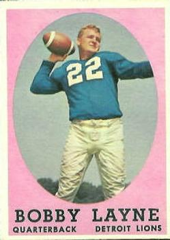 1958 Topps #2 Bobby Layne