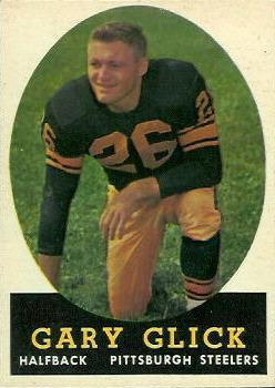 1958 Topps #19 Gary Glick RC