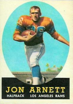 1958 Topps #20 Jon Arnett RC