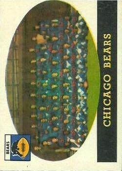 1958 Topps #29 Chicago Bears