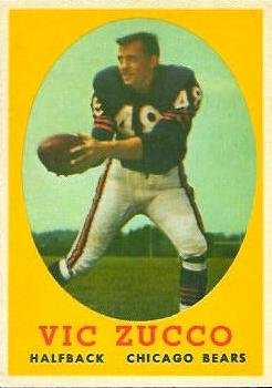 1958 Topps #36 Bert Vic Zucco RC