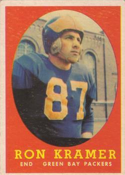 1958 Topps #58 Ron Kramer RC