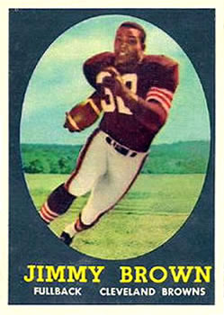 1958 Topps #62 Jim Brown RC
