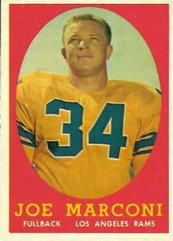 1958 Topps #63 Joe Marconi RC