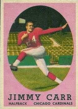 1958 Topps #65 Jimmy Carr RC
