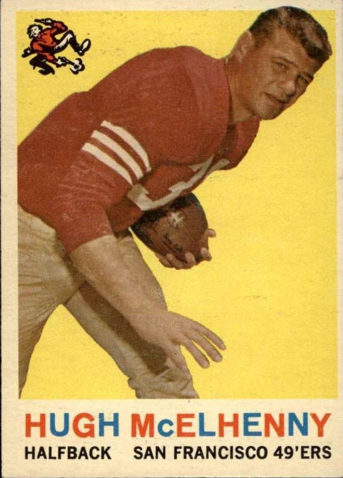 1959 Topps #5 Hugh McElhenny
