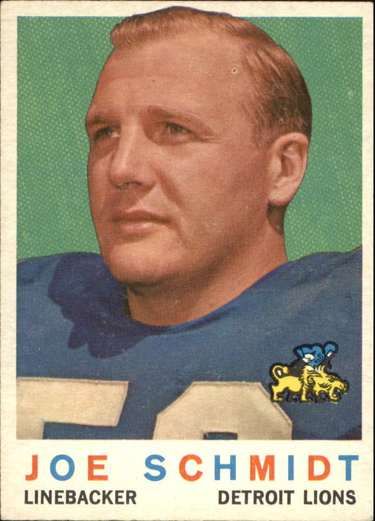 1959 Topps #6 Joe Schmidt