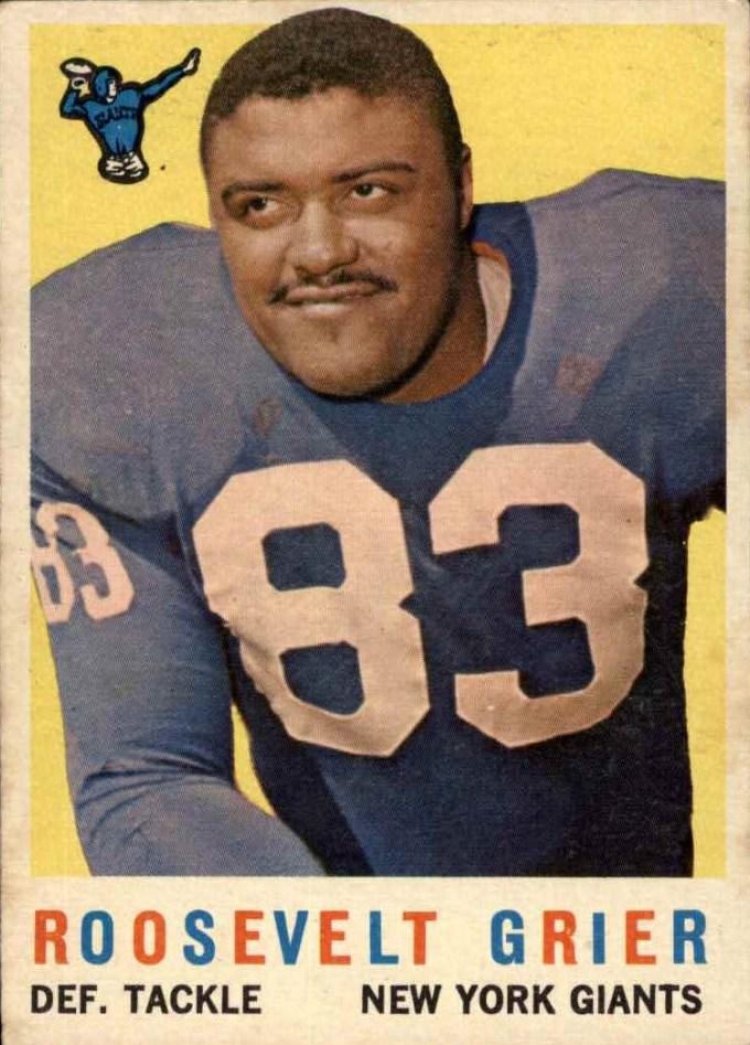 1959 Topps #29 Roosevelt Grier