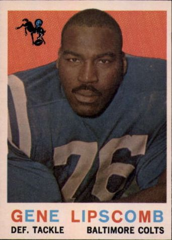 1959 Topps #36 Gene Lipscomb RC