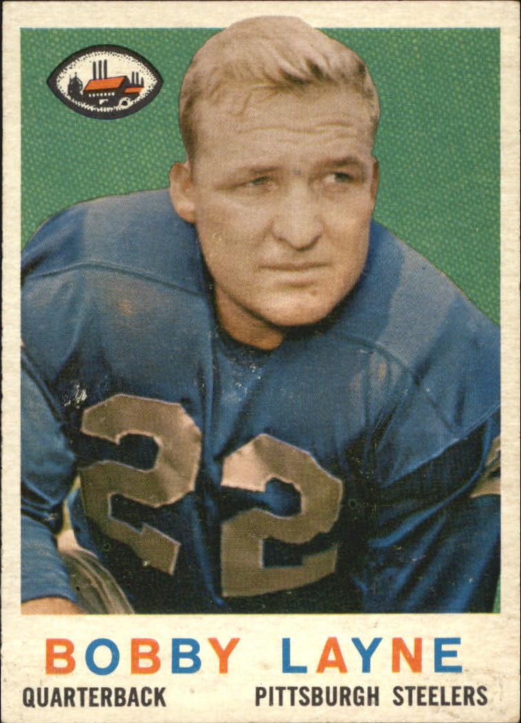 1959 Topps #40 Bobby Layne