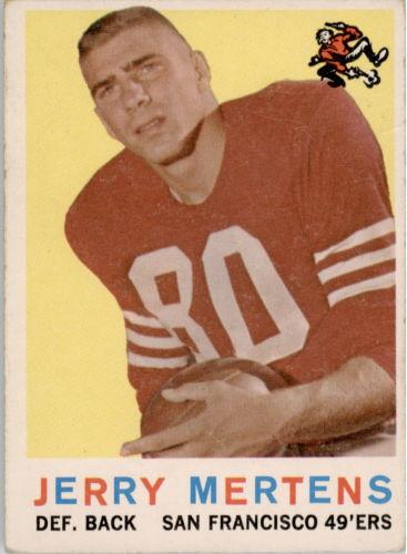 1959 Topps #42 Jerry Mertens RC