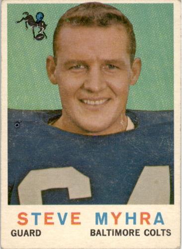 1959 Topps #43 Steve Myhra RC