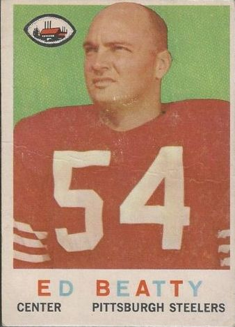 1959 Topps #48 Ed Beatty RC