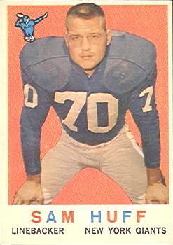 1959 Topps #51 Sam Huff RC