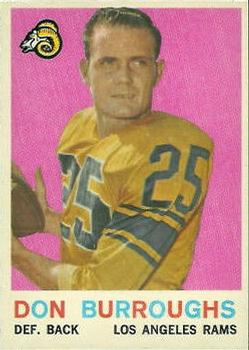 1959 Topps #59 Don Burroughs RC