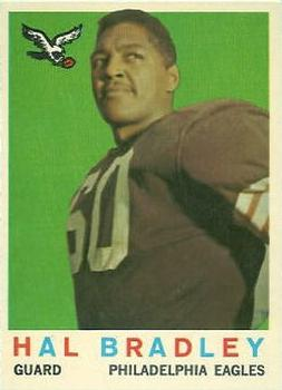 1959 Topps #63 Harold Bradley RC
