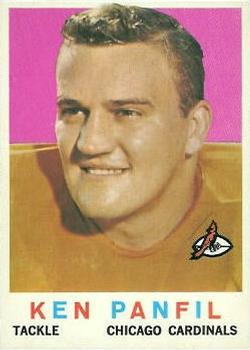 1959 Topps #71 Ken Panfil RC