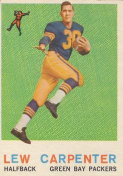 1959 Topps #95 Lew Carpenter RC