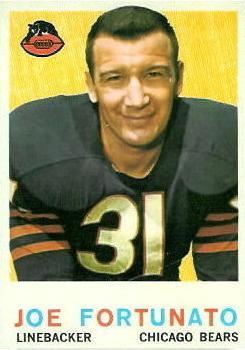 1959 Topps #106 Joe Fortunato RC