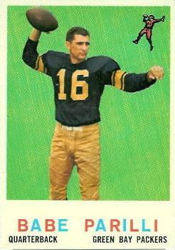 1959 Topps #107 Babe Parilli