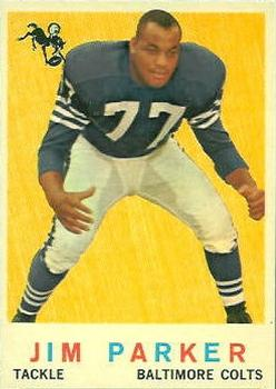 1959 Topps #132 Jim Parker RC