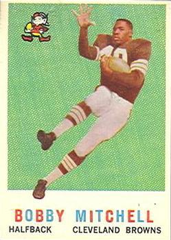 1959 Topps #140 Bobby Mitchell RC
