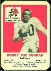 1960 Cardinals Mayrose Franks #10 Bobby Joe Conrad