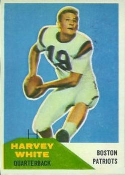 1960 Fleer #1 Harvey White RC