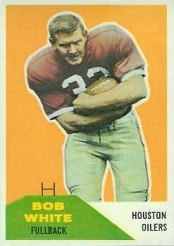 1960 Fleer #4 Bob White RC