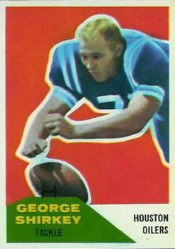 1960 Fleer #12 George Shirkey RC
