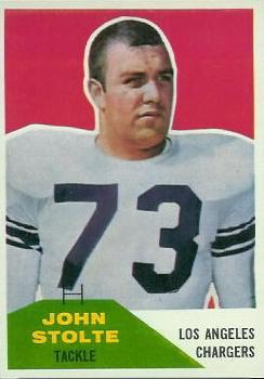 1960 Fleer #14 John Stolte RC