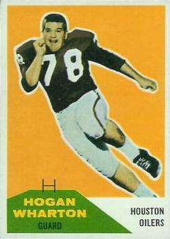 1960 Fleer #18 Hogan Wharton RC