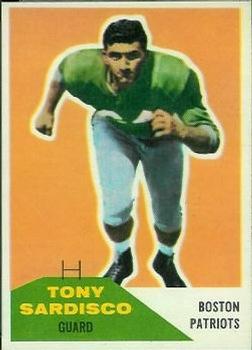 1960 Fleer #21 Tony Sardisco RC