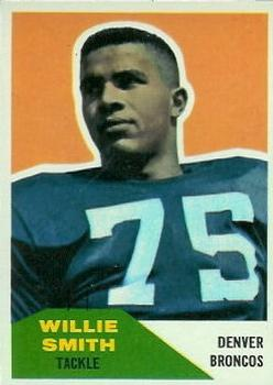 1960 Fleer #47 Willie Smith RC