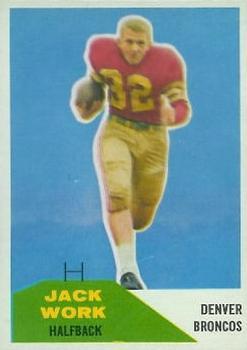 1960 Fleer #88 Jack Work
