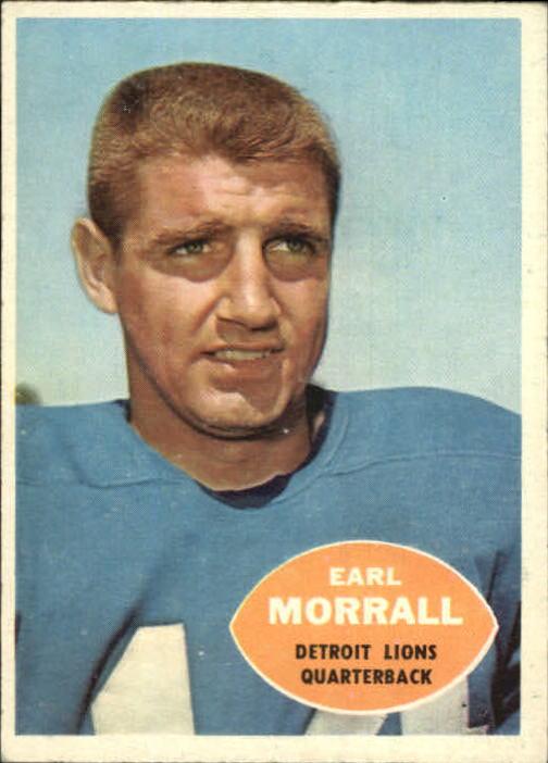 1960 Topps #41 Earl Morrall