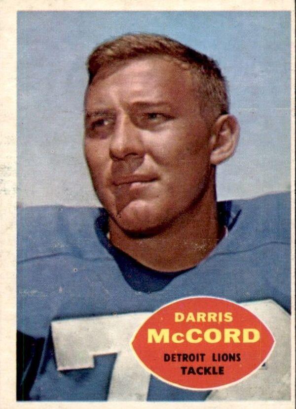 1960 Topps #45 Darris McCord RC