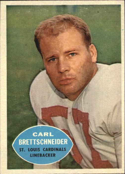 1960 Topps #109 Carl Brettschneider
