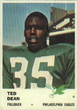 1961 Fleer #50 Ted Dean RC