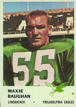 1961 Fleer #56 Maxie Baughan RC