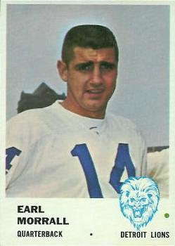 1961 Fleer #78 Earl Morrall