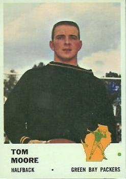 1961 Fleer #91 Tom Moore RC