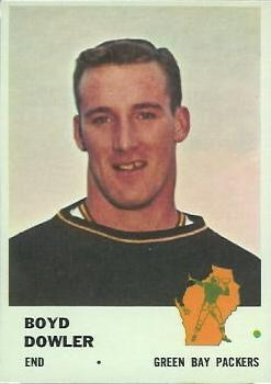 1961 Fleer #92 Boyd Dowler RC