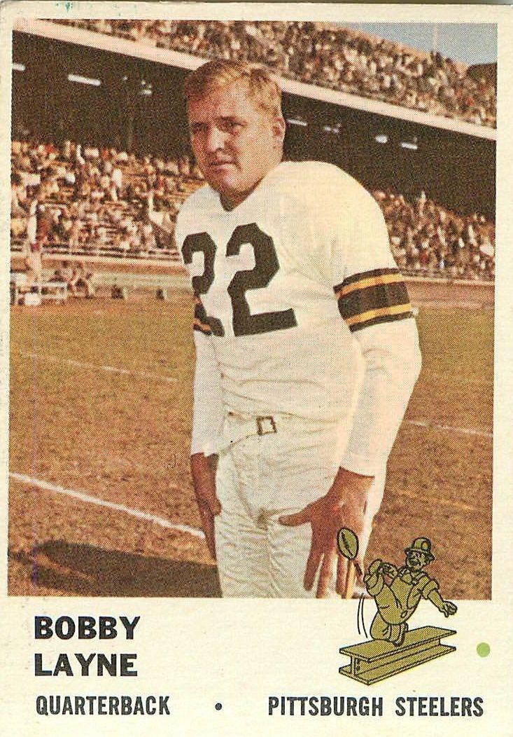 1961 Fleer #117 Bobby Layne