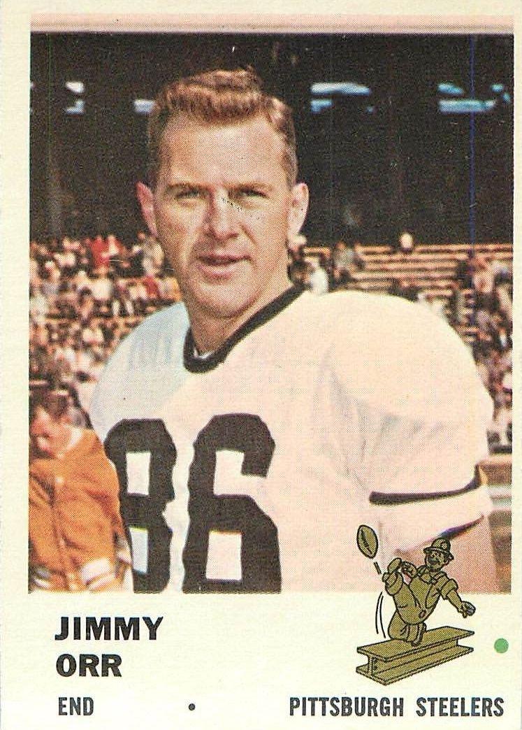 1961 Fleer #120 Jimmy Orr RC