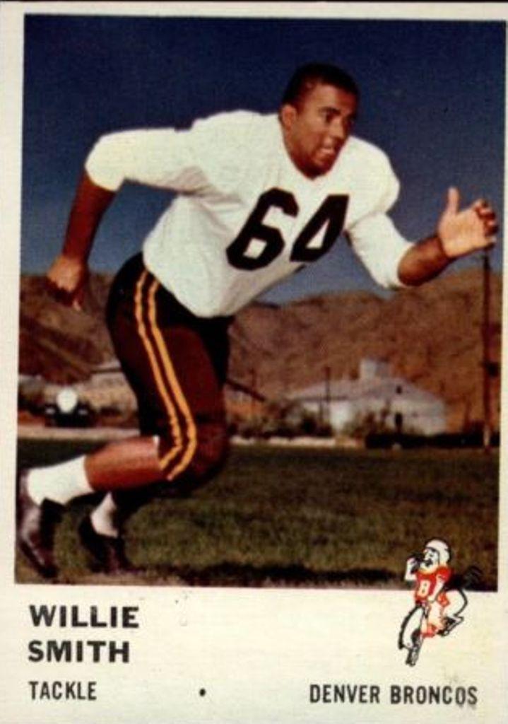 1961 Fleer #149 Willie Smith