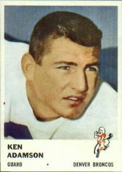 1961 Fleer #151 Ken Adamson