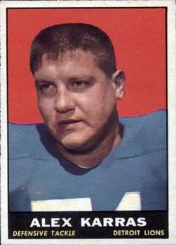1961 Topps #35 Alex Karras