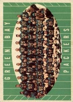 1961 Topps #47 Green Bay Packers