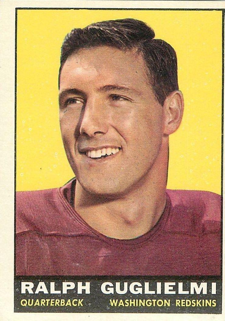 1961 Topps #123 Ralph Guglielmi